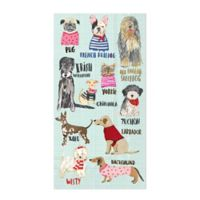 Dogs 3-Ply Paper Guest Towels