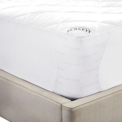 Sure Fit Deluxe Memory Foam Twin Mattress Pad