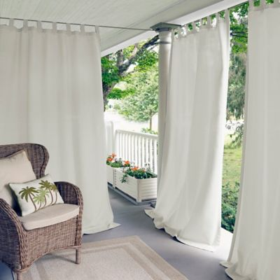 Buy White Tab Top Curtains from Bed Bath & Beyond