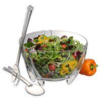 Prodyne 3-Piece Salad Bowl and Server Set