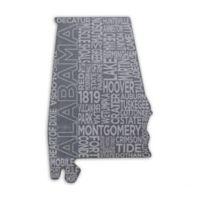 Top Shelf Living Alabama Etched Slate Cheese Board