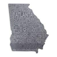 Top Shelf Living Georgia Etched Slate Cheese Board