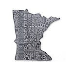 Top Shelf Living Minnesota Etched Slate Cheese Board