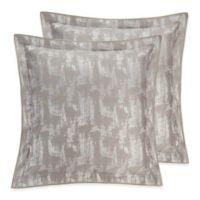Valeron Fiesol European Pillow Sham in Silver