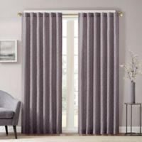 Aliya 63-Inch Rod Pocket/Back Tab Window Curtain Panel in Grey