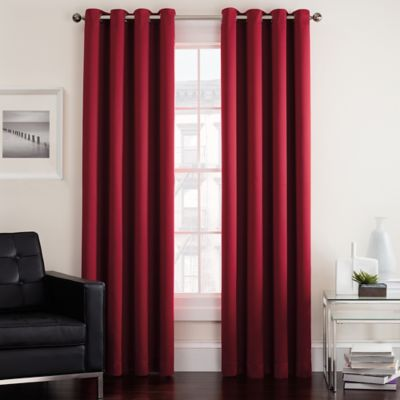 print of window red silk grommet drapes floral shop damask inch set luxurious panels embroidered curtain medallion x curtains