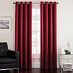 Twilight 84-Inch Room Darkening Grommet Window Curtain Panel in Red