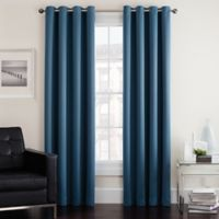 Twilight 95-Inch Room Darkening Grommet Top Window Curtain Panel in Wedgewood