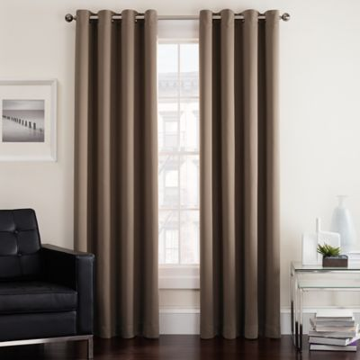 Buy Curtains Brown And Red From Bed Bath Amp Beyond