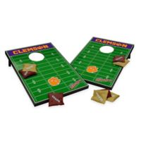 NCAA Clemson University Field Tailgate Toss Cornhole Game