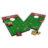 NCAA University of Louisville Field Tailgate Toss Cornhole Game