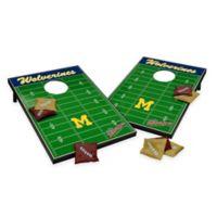 NCAA University of Michigan Field Tailgate Toss Cornhole Game