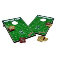 NCAA Michigan State University Field Tailgate Toss Cornhole Game