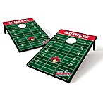 NCAA University of Nebraska Field Tailgate Toss Cornhole Game