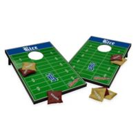 NCAA Rice University Field Tailgate Toss Cornhole Game