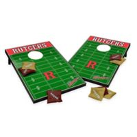 NCAA Rutgers University Field Tailgate Toss Cornhole Game