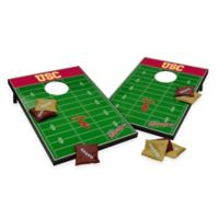 NCAA USC Field Tailgate Toss Cornhole Game