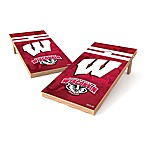 NCAA University of Wisconsin Regulation Cornhole Set