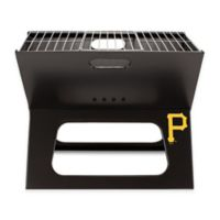 MLB Pittsburgh Pirates X-Grill Portable Charcoal Grill