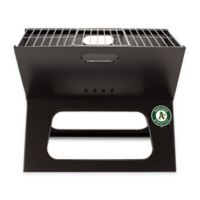 MLB Oakland A's X-Grill Portable Charcoal Grill