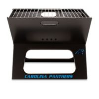 NFL Carolina Panthers X-Grill Portable Charcoal Grill