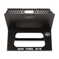 NFL New York Jets X-Grill Portable Charcoal Grill