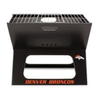 NFL Denver Broncos X-Grill Portable Charcoal Grill