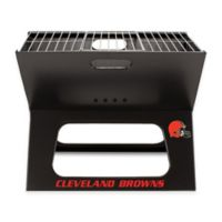 NFL Cleveland Browns X-Grill Portable Charcoal Grill