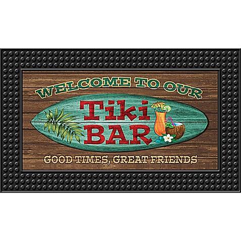 Tiki Bar18 Inch X 30 Inch Led Door Mat Bed Bath Amp Beyond
