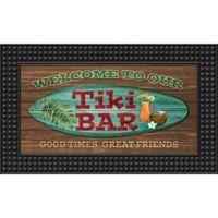 Tiki Bar18-Inch x 30-Inch LED Door Mat
