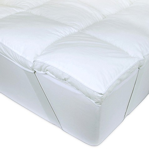 I Can t Believe It s Not Down Mattress Topper in White