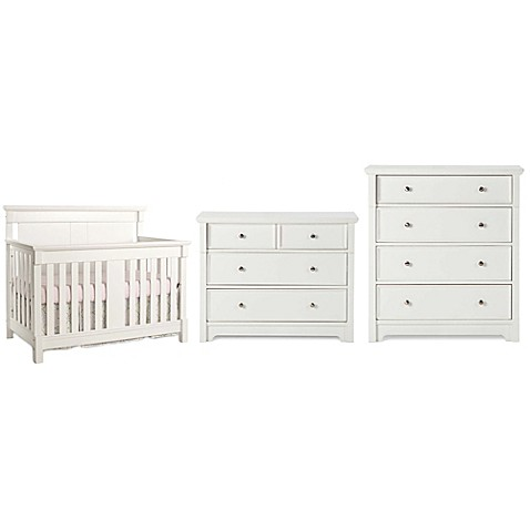 Superb Child Craft™ Ellicott Nursery Furniture Collection In Matte White