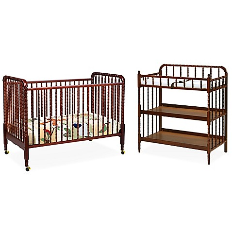davinci jenny lind nursery furniture collection in cherry bed bath beyond