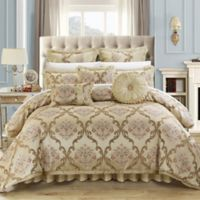 Chic Home Marchesi 9-Piece Queen Comforter Set in Beige