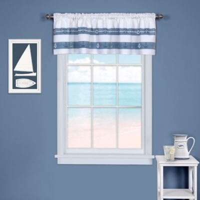 nautical on windows crafts valances and pinterest themed window drapes images curtains coastal in home kitchen florida decorations beach a best