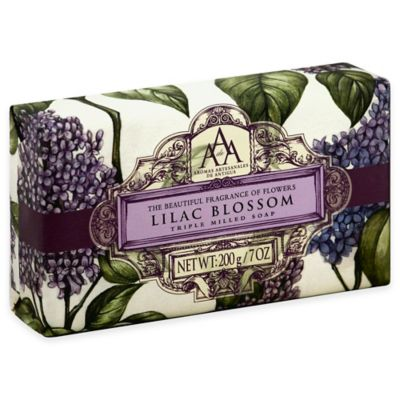 Aromatherapy Triple Milled Bar Soap In Lilac Blossom