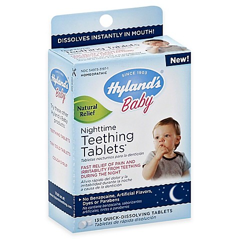 Hyland's® 135-Count Baby Nighttime Teething Tablets ...