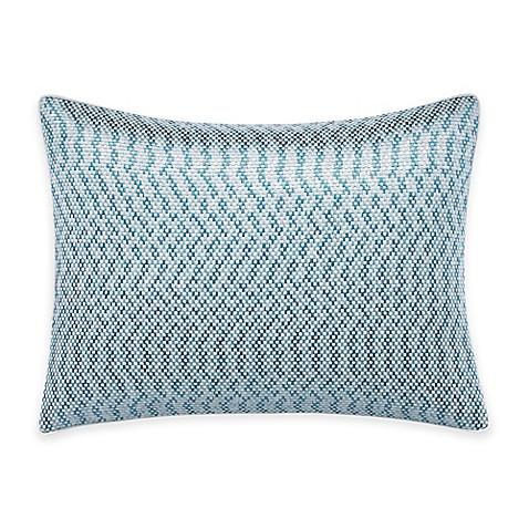 Tommy Bahama Blue Palm Faux Linen Breakfast Throw Pillow in Light Beige - Bed Bath & Beyond