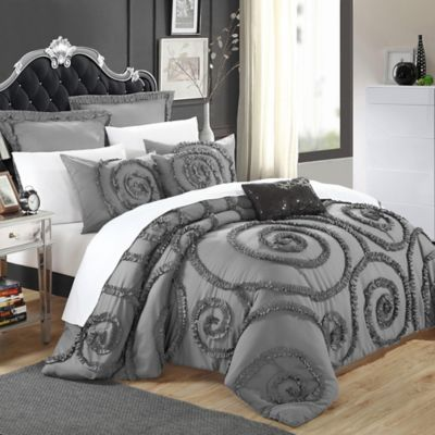 lodge comforter gray ecrins elegant to how king put set burgundy sets