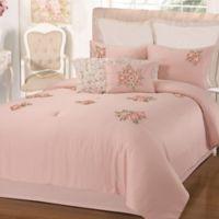 Chic Home Rossie 5-Piece Queen Comforter Set in Pink