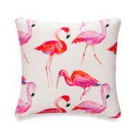 Glenna Jean Lilly & Flo Flamingo Throw Pillow