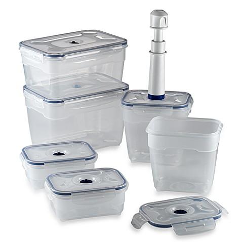 NeoFlam® 13-Piece Vacuum Seal Food Storage Set  sc 1 st  Bed Bath u0026 Beyond & NeoFlam® 13-Piece Vacuum Seal Food Storage Set - Bed Bath u0026 Beyond
