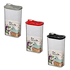 Glide Tite Rectangular Pet Food Storage Container Bed
