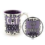 "Our Name Is Mud® ""Cat Person"" Mug"