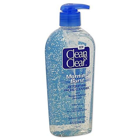 clean & clear facial scrub