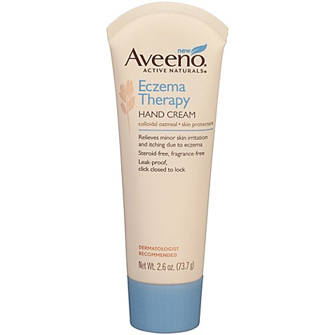 Aveeno 174 2 6 Oz Eczema Therapy Hand Cream Buybuy Baby