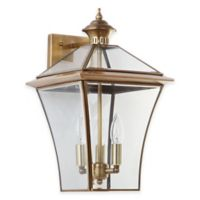 Safavieh Virginia Triple Light Sconce in Brass