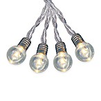 Vintage Look 16-Bulb LED String Lights