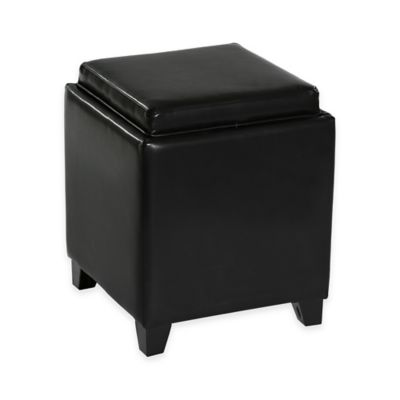 Buy Black Storage Ottomans from Bed Bath Beyond
