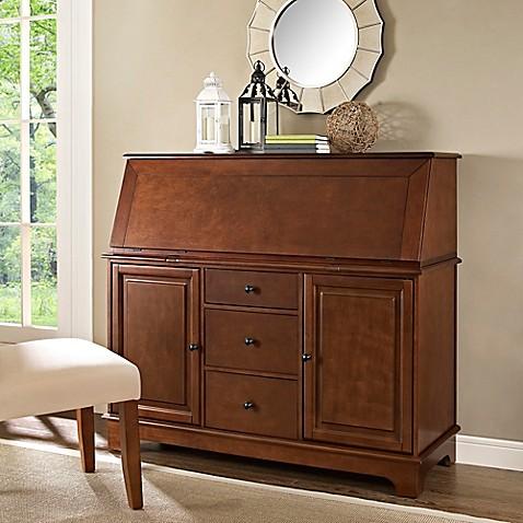 Buy Crosley Sullivan Secretary Desk In Mahogany From Bed